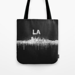 Los Angeles City Skyline HQ v5 WB Tote Bag