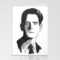 twin peaks Stationery Cards featuring twin peaks by sharon