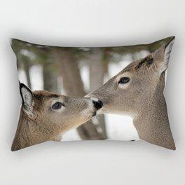 Chevreuil 001 Rectangular Pillow