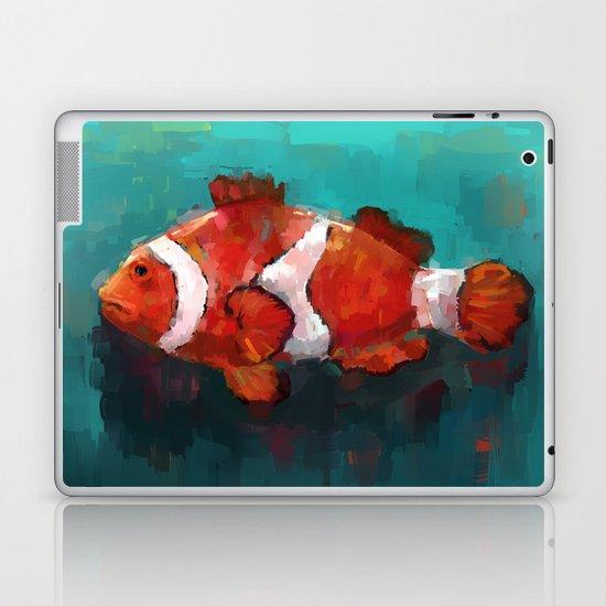 Red Clown Laptop & iPad Skin