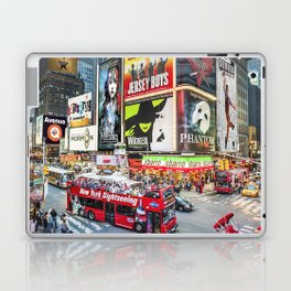 Times Square II Special Edition II Laptop & iPad Skin