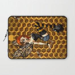 Pinup Honey Bee Laptop Sleeve