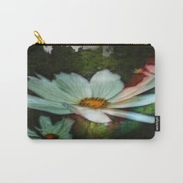 Grunge Daisies Carry-All Pouch