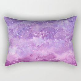 #78. STEPHANIE - Purple Ombre Rectangular Pillow