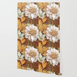 Autumn's Floral Wallpaper