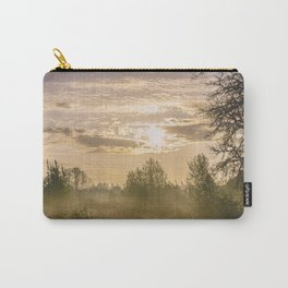 Sunrise in Woodburn Carry-All Pouch