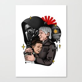 Force Awekens tattoo flash Canvas Print