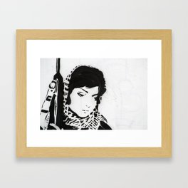 The Unseen Freedom Fighters Framed Art Print