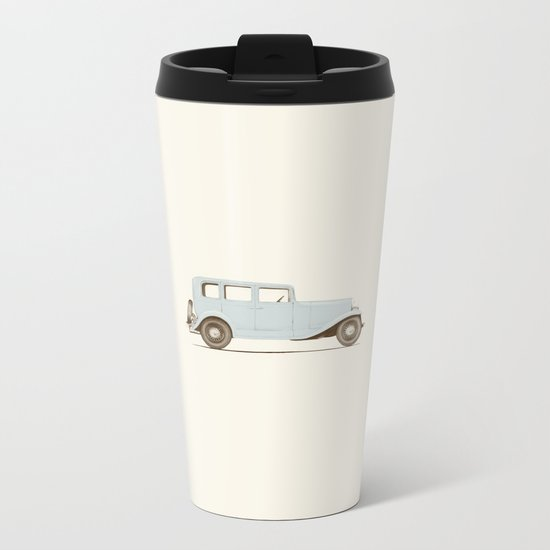 Car of the 1930's Metal Travel Mug