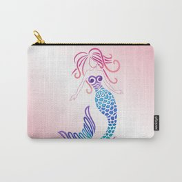 Tribal Mermaid Carry-All Pouch