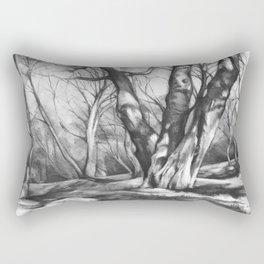 Musing of Trees Rectangular Pillow