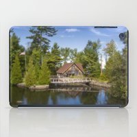 michigan iPad Cases featuring Michigan Cottage by davehare