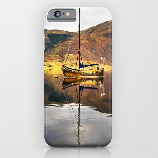 Sailboat Reflections iPhone & iPod Case
