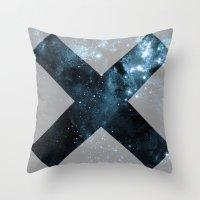 the xx Throw Pillows featuring XX by  Can Encin