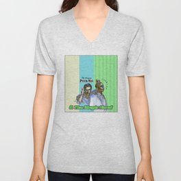 The Amazing Psych-Man & The Magic-Head - Psych quotes Unisex V-Neck