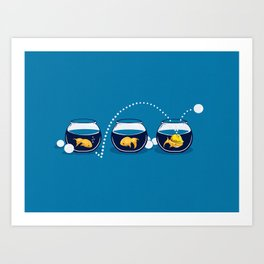 Prepared Fish Art Print