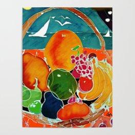 Fruit Bounty Australia           by Kay Lipton Poster