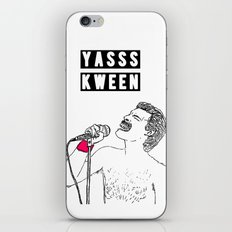 YASSS KWEEN iPhone & iPod Skin