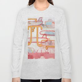 Exit To The Left Long Sleeve T-shirt