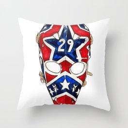 Palmateer - Mask 1 Throw Pillow