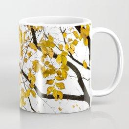 Golden Leaves on a Limb Coffee Mug