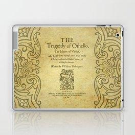 Shakespeare. Othello, 1622. Laptop & iPad Skin