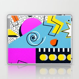Retro memphis mess Laptop & iPad Skin