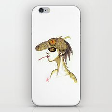 The Masquerade:  The Iguana iPhone & iPod Skin