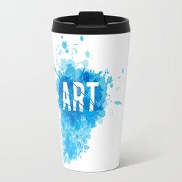 A Blast of Art Travel Mug