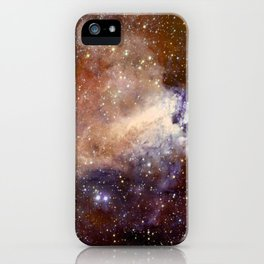 Deep-space nebula iPhone Case