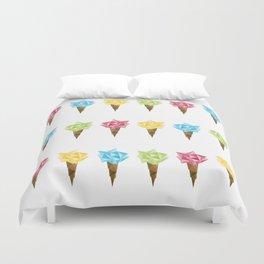 Ice Cream/Different Colors Duvet Cover