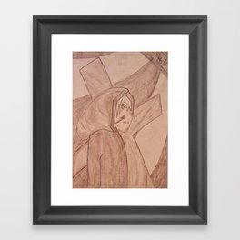 Follower Framed Art Print