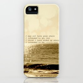 Where are you going iPhone Case