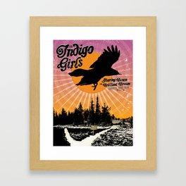 Starring Down the Brilliant Dream Framed Art Print