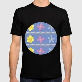 Spring Flowers Pattern [BLUE] T-shirt