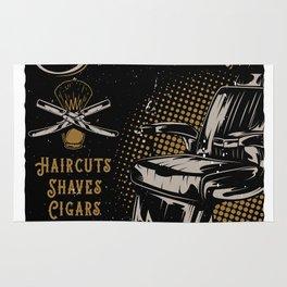 Gentlemen's Barber Shop LA Rug