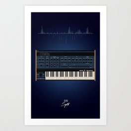 The Synth Project - Oberheim OB-XA Art Print