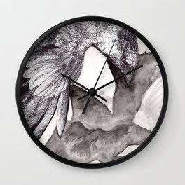 The Four Messengers Wall Clock