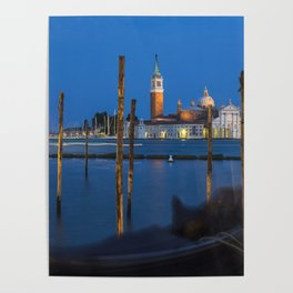 Venice By Night Poster