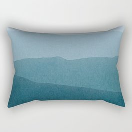 gradient landscape Rectangular Pillow