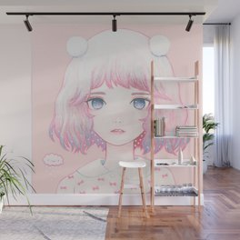 Spring Snow Wall Mural
