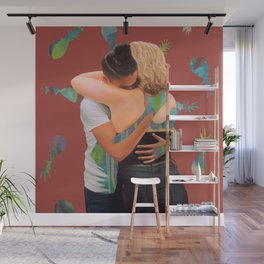 Bec and Isa Wall Mural