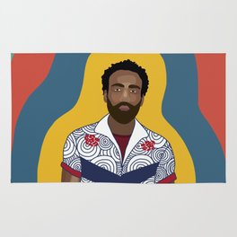 The One and Only Childish Gambino Rug