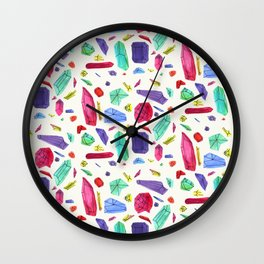 Asymmetric Jems Wall Clock
