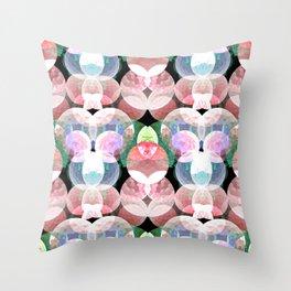 deepsea pattern  Throw Pillow