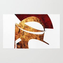 Spartan warrior Rug