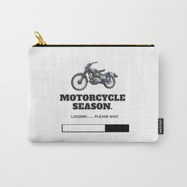 Motorcycle Season Loading Carry-All Pouch
