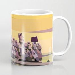 Geometric Easter Island Coffee Mug
