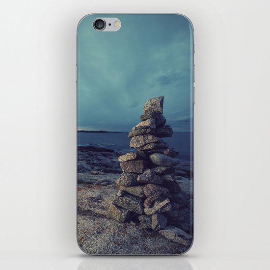 Cairn in Twilight iPhone & iPod Skin