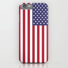 National flag of USA - Authentic G-spec 10:19 scale & color Slim Case iPhone 6
